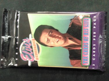 ELVIS PRESLEY TRADING CARDS The Collection Series 1 of his life SEALED PACK SALE