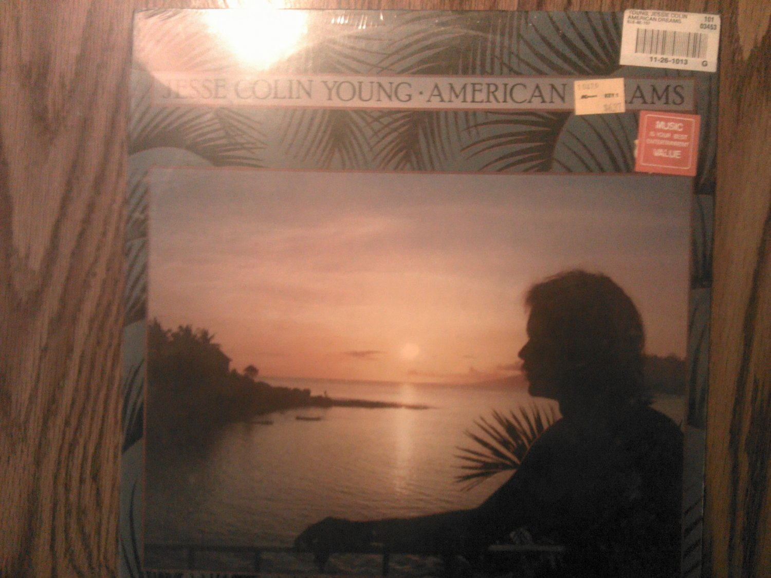 LP JESSE COLIN YOUNG American Dreams vintage record SEALED