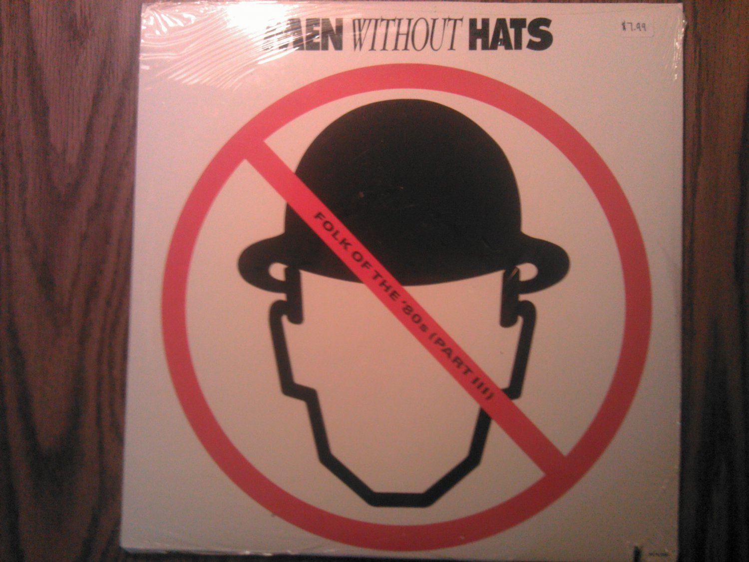 LP MEN WITHOUT HATS Folk of the 80's Part 3 no dancing vintage record SEALED
