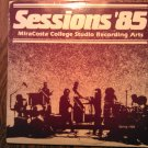 LP SESSIONS 85 Miracosta College bad brad karow blues pharoahs vinyl record signed AUTOGRAPHED