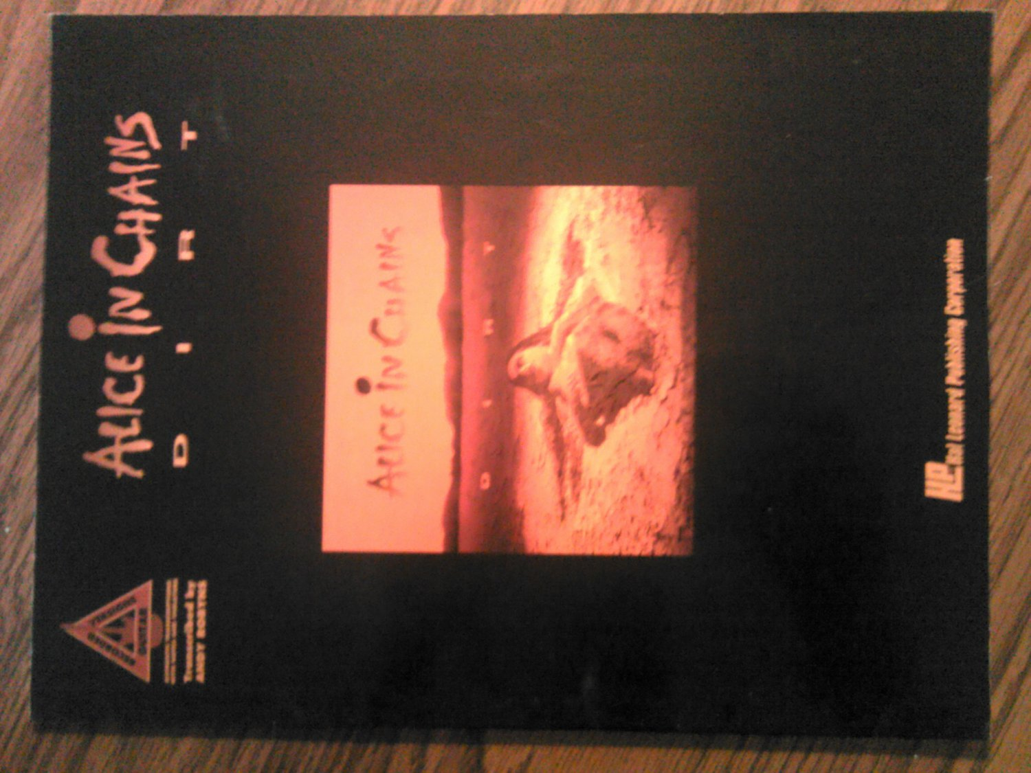 ALICE IN CHAINS SONGBOOK Dirt guitar tablature song book TAB