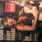 7/11 GUITAR WORLD magazine randy rhoads poster amon amarth bad company ozzy TAB