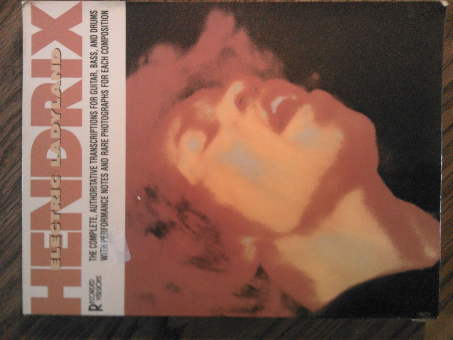 JIMI HENDRIX SONGBOOK Electric Ladyland guitar bass drum tablature song book TAB