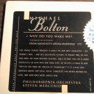 CD MICHAEL BOLTON Why Do You Wake Me opera single IMPORT PROMO