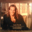 CD MICHAEL BOLTON Lean On Me 4 tracks live IMPORT