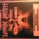 CONCERT FLYER Napalm Death a life once lost animosity 2006 texas SALE