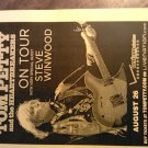 CONCERT FLYER Tom Petty steve winwood heartbreakers verizon 2008 texas SALE