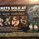 CONCERT FLYER The Iron Maidens pigweed sacred fate extreme metalfest 2010 texas SALE