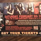 CONCERT FLYER W.A.S.P. la guns wasp texas 2008