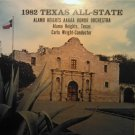 LP 1982 Texas All-State alamo heights aaaaa honor orchestra san antonio texas record album VINTAGE