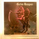 GRIM REAPER See You In Hell carnival mirror glass rock VINTAGE 80s