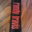 RANDY TRAVIS HEADBAND red logo country head band VINTAGE