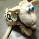 SERTA COUNTING SHEEP plush #36 blue eyes tags toy PROMO