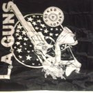 L.A. GUNS FABRIC BANNER cocked and loaded la tapestry VINTAGE