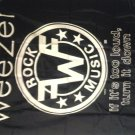 WEEZER FABRIC BANNER if its too loud turn it down =w= tapestry VINTAGE
