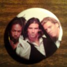 E.Y.C. PINBACK BUTTON express yourself clearly in the beginning vintage SALE