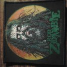 ROB ZOMBIE sew-on PATCH face white import NEW