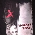 AVRIL LAVIGNE SHIRT Under My Skin 2004 Tour 2-sided SMALL