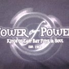 TOWER OF POWER SHIRT Through The Years discography 2-sided L
