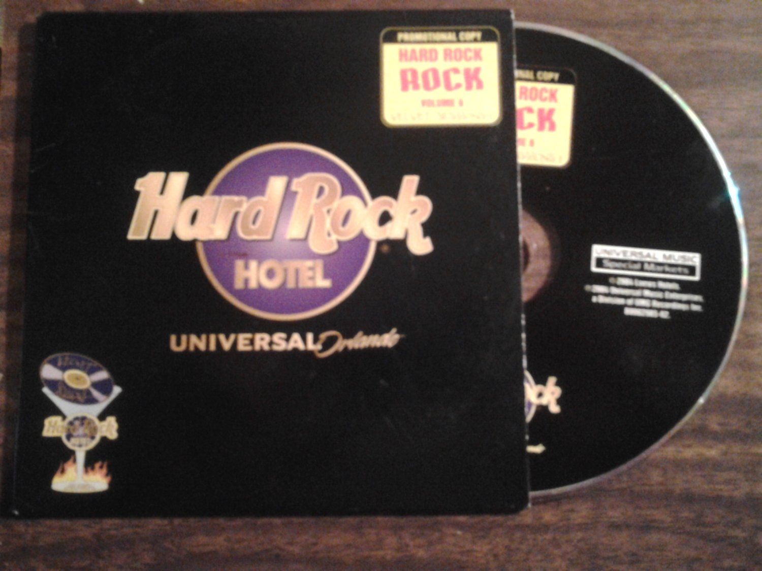 CD Hard Rock Hotel velvet sessIons the fixx loverboy missing persons john cafferty berlin PROMO
