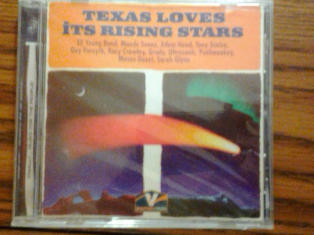 CD V/A Guy Forsyth Pushmonkey Ultrasonic Grady TEXAS RISING STARS