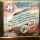 CD V/A Texas Live pat green george devore dahebegebees hillbilly cafe country promo SEALED SALE