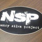 NSP STICKER nancy silva band san antonio texas NEW
