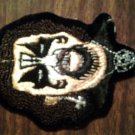 KING DIAMOND iron-on PATCH face mercyful fate VINTAGE 80s