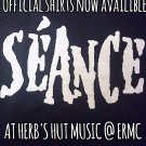 SEANCE SHIRT séance white logo byfist san antonio texas NEW XL