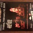 CONCERT FLYER Y&T Jason Kane & the Jive san antonio texas 2016 SALE