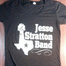 JESSE STRATTON BAND SHIRT shortie sleeve womens texas country SMALL