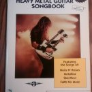 HEAVY METAL GUITAR SONGBOOK 2B song book tablature metallica guns n roses faith no more skid row