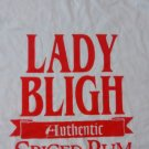 LADY BLIGH RUM SHIRT authentic spiced white promo XL NEW