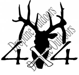 Team Droptine 4x4 Truck Decals
