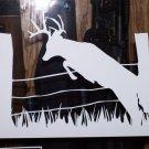 "Buck Jumping Fence - 7""X10"""