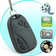 Digital Video Recorder Spy Camera (Keychain Car Remote Style)