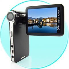 4GB PMP + DV Camcorder - 2.5 Inch Swivel Screen