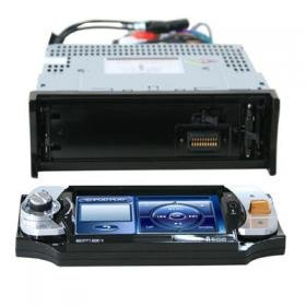 Bluetooth Car DVD Player 4.3 inch TFT LCD with USB Port
