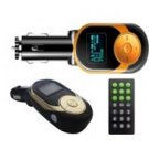 24K GOLD MEDAL Car bluetooth FM Transmitter with 206 Channels and DVD Player