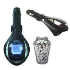 SNAKE Car FM Transmitter with 206 Channels and DVD Player with 2G flash memory