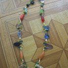mix color short necklace B2