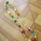Mix color short necklace B3