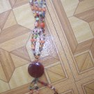 Mix Stone long necklace A9