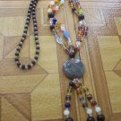 Mix Stone long necklace A8