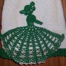 Green Fancy Lady Hand Towel
