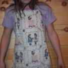 Garden Bunnies Child's Chef Apron