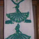Jade Fancy Lady Bath Towel Set