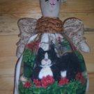 Plastic Bag Holder - Cat
