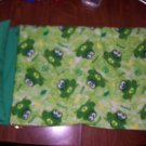 Sleeping Bag - Green Peace Frogs