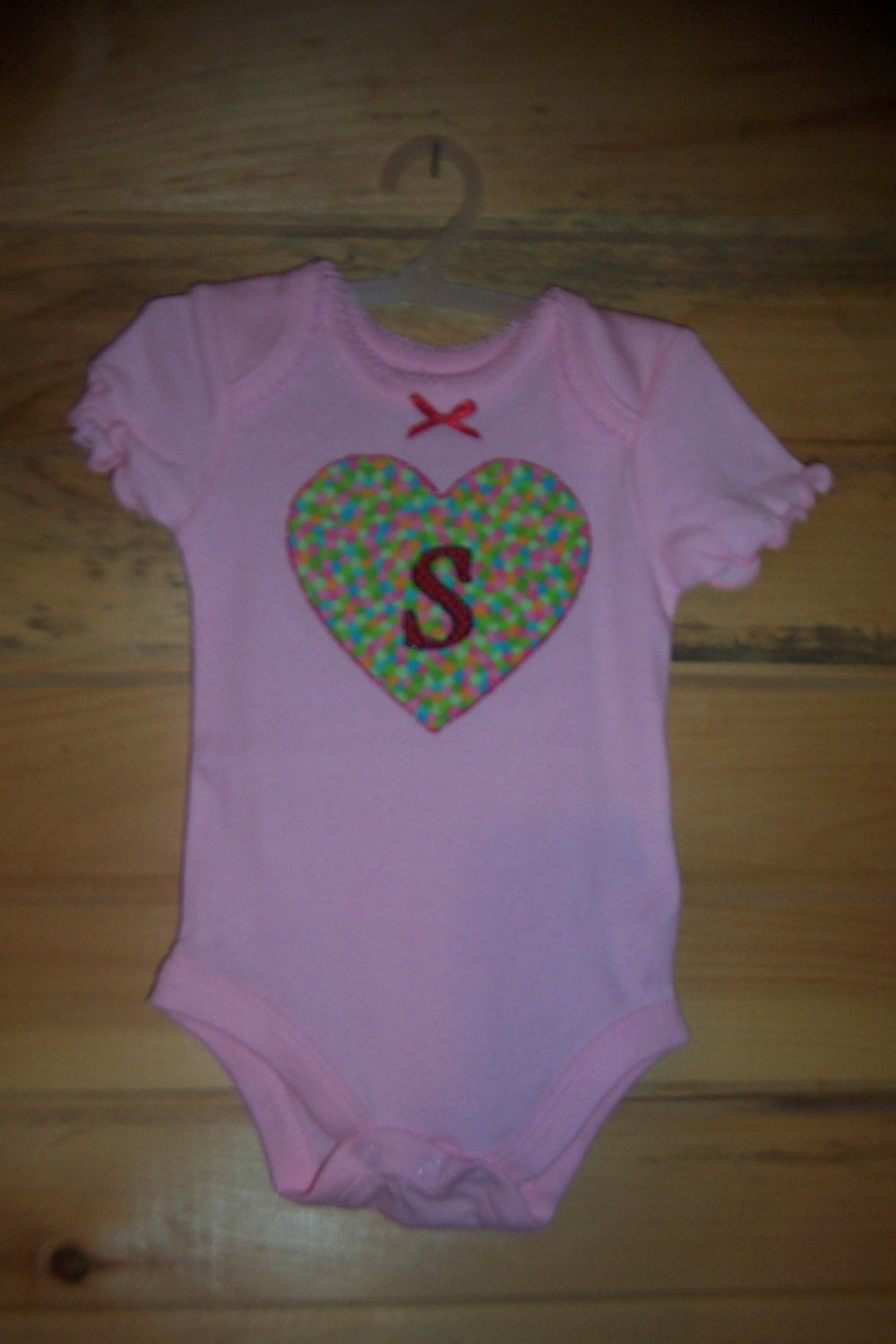 Monogrammed Onesie for Girls